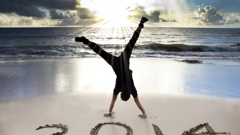 Yoga as Art – Beach Handstands.
