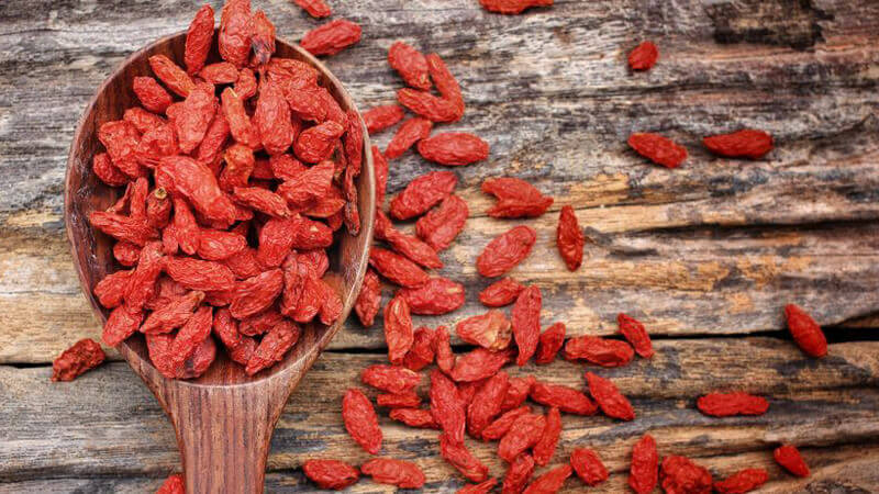 Yoga Yummies 1 - Goji Berriesop