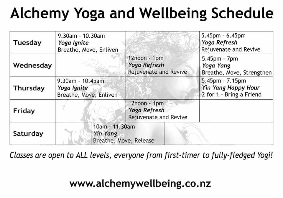 Yoga New Plymouth Teachers Classes Taranaki Zealand