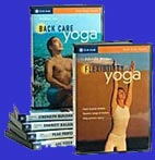 Gaiam Yoga DVDS