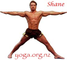 Shane from yoga
