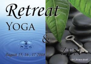 yoga and Zen  retreat