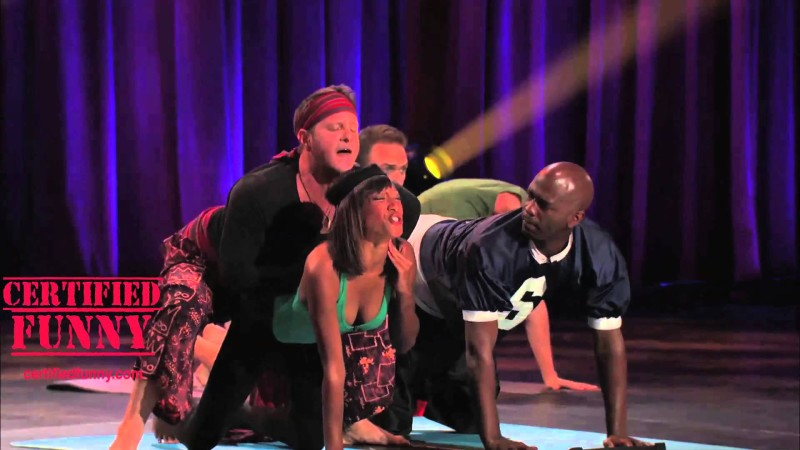 Certified Funny – Yoga on Stage