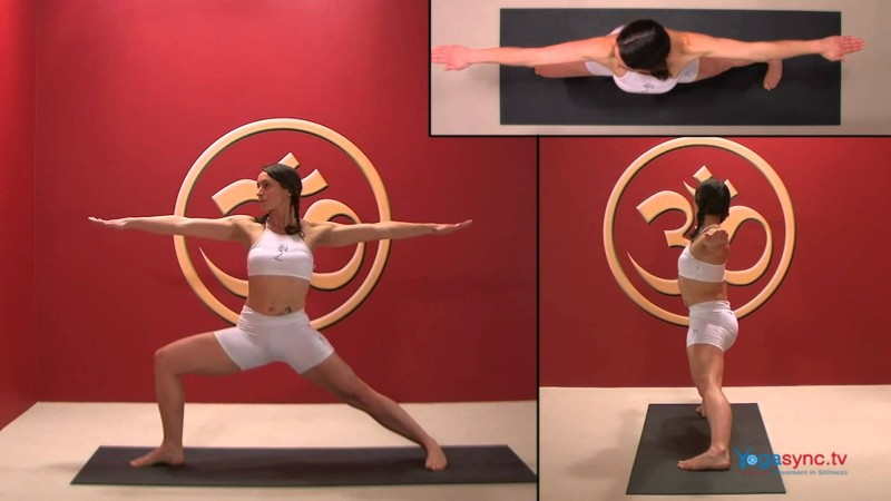 Warrior Two – Virabhadrasana 2
