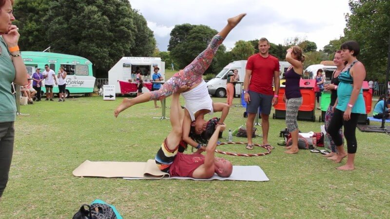 Yogasync at Wanderlust