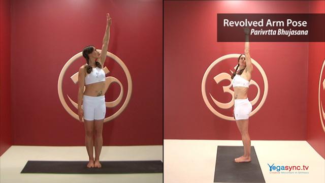 Revolved Arm Pose – Parivrtta Bhujasana