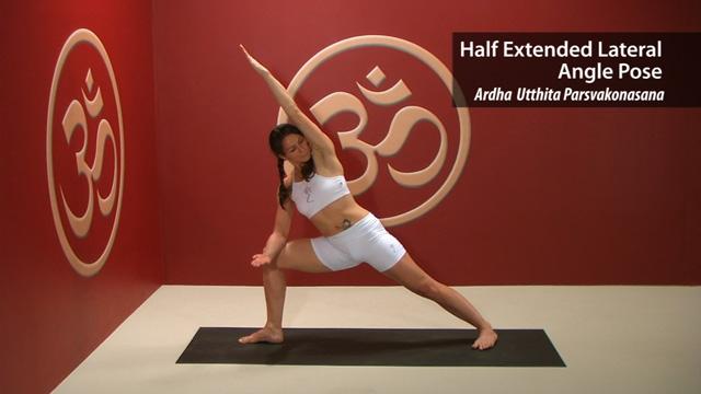 Half Extended Lateral Angle Pose – Ardha Utthita Parsvakonasana