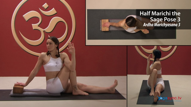 Half Marichi the Sage Pose 3 – Ardha Marichyasana 3