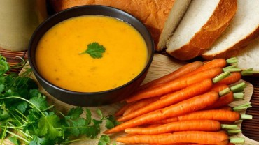 Recipe and Review: Food for the Soul: Carrot and Ginger Soup