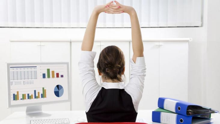 Yoga to Boost Productivity Right Now!
